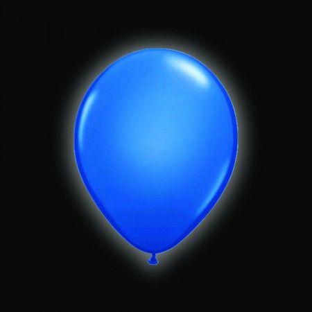 LED ballonnen blauw 5 stuks Ballon LED verlichting Ballonnen