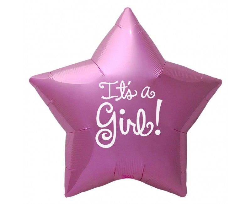 folieballon 45cm It's a girl star