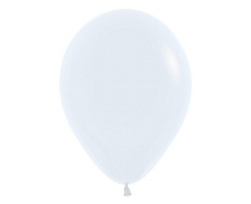 Sempertex ballonnen 30 cm white, 50 stuks