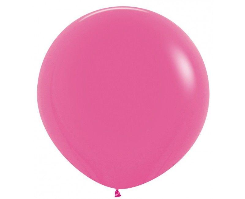 Sempertex ballon 90 cm fuchsia, 1 stuk