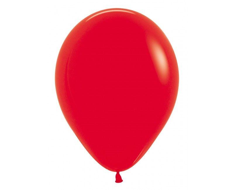 Sempertex ballonnen 12 cm red, 50 stuks