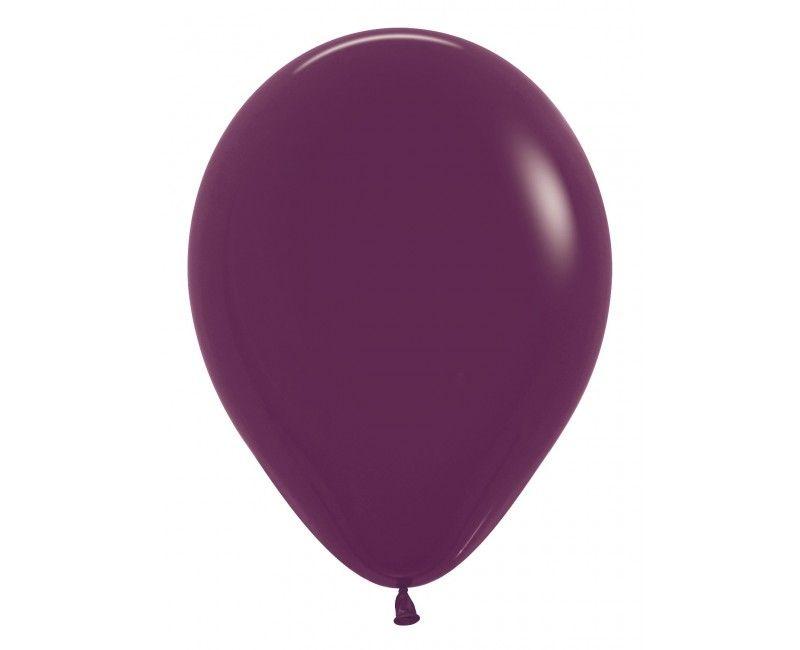 Sempertex ballonnen 12 cm burgundy, 50 stuks