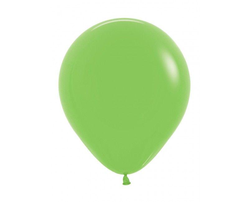 Sempertex ballonnen 45 cm lime green, 25 stuks