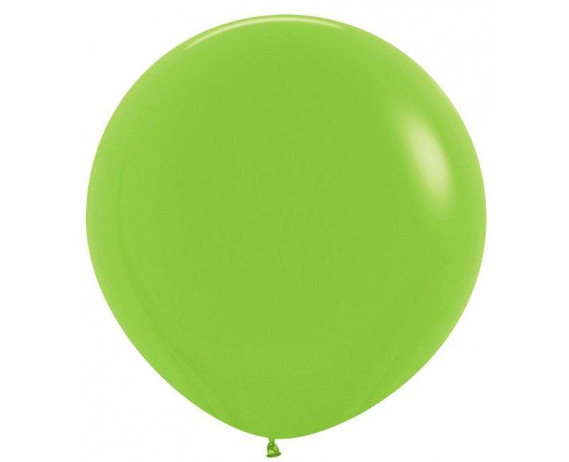 Sempertex ballon 90 cm lime green, 1 stuk