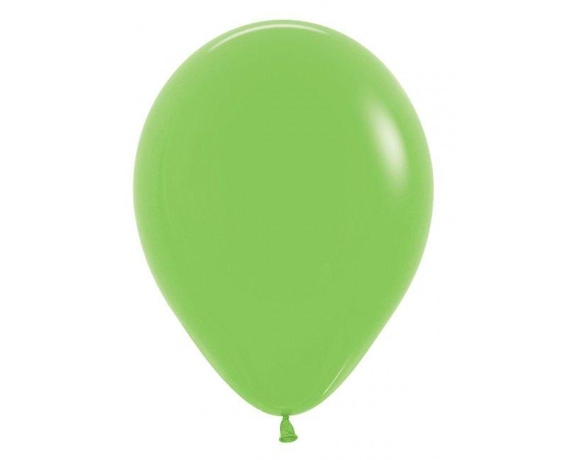 Sempertex ballonnen 12 cm lime green, 50 stuks