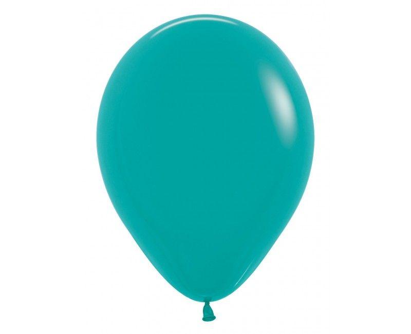 Sempertex ballonnen 30cm turquoise, 50 stuks