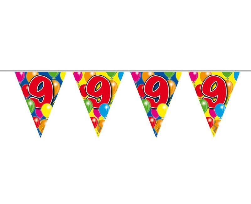 Vlaggenlijn ballonnen 9