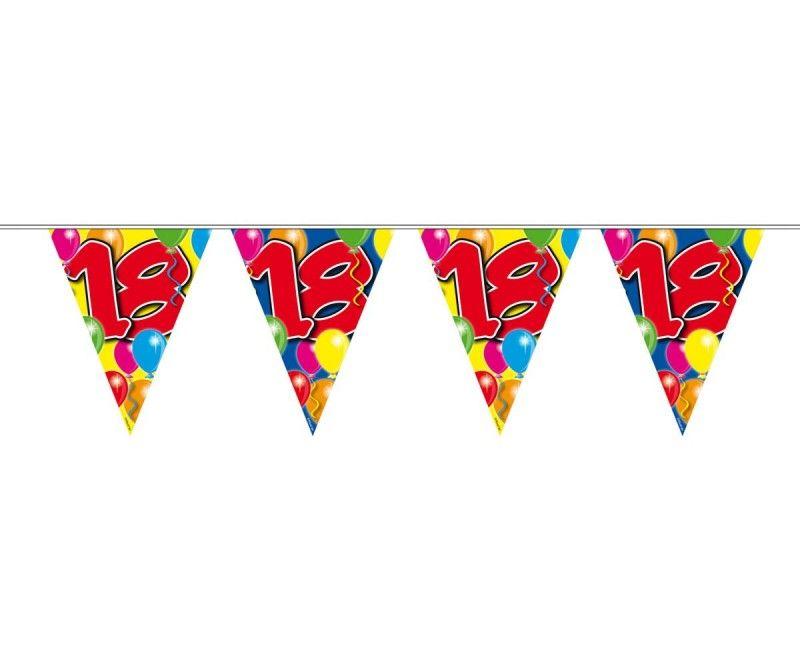 Vlaggenlijn ballonnen 18