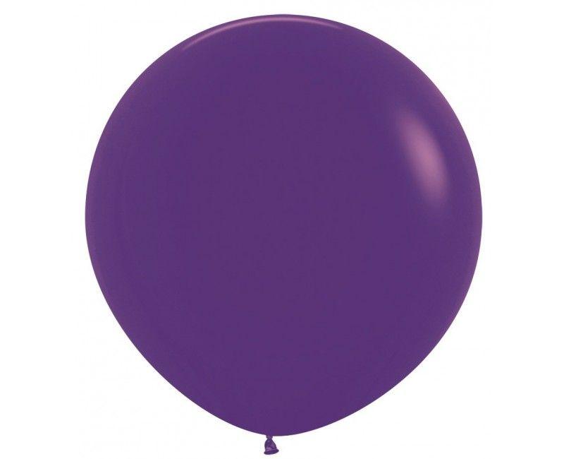 Sempertex ballon 90 cm violet, 1 stuk