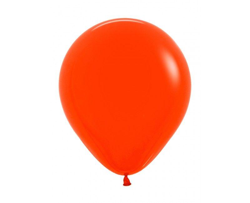 Sempertex ballonnen 45 cm orange, 25 stuks