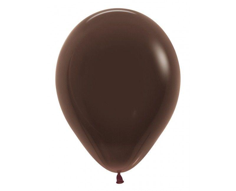 Sempertex ballonnen 30cm chocolat, 50 stuks