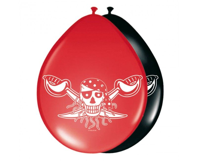 Ballonnen Red Pirate