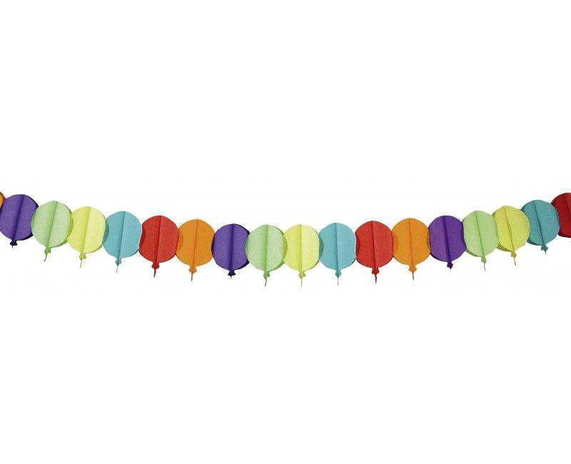 Papieren slinger ballonnen 6 meter