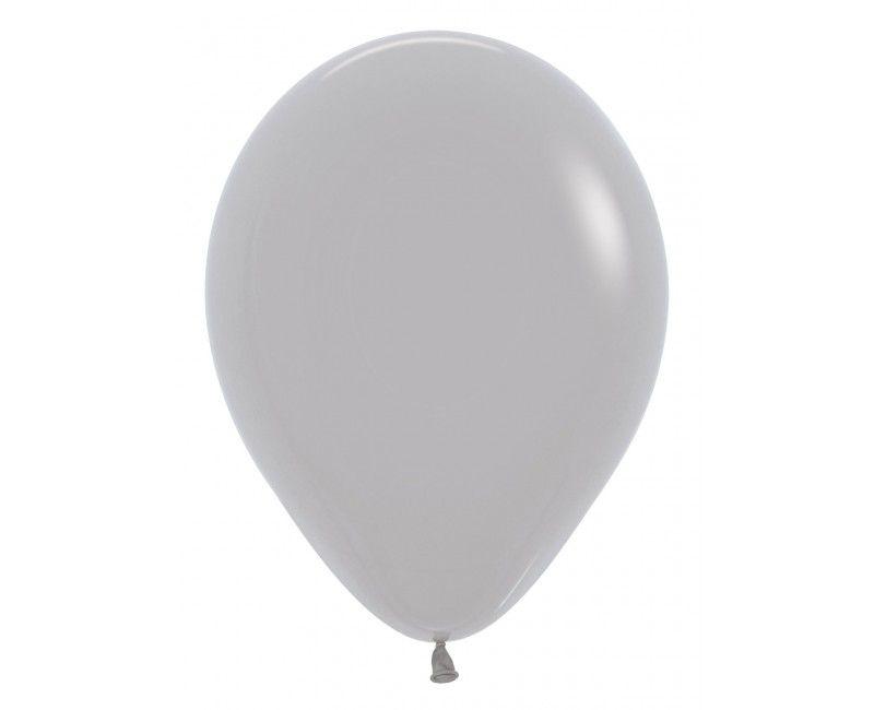 Sempertex ballonnen 12 cm grey, 50 stuks