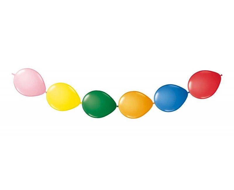 Knoop ballonnen assorti