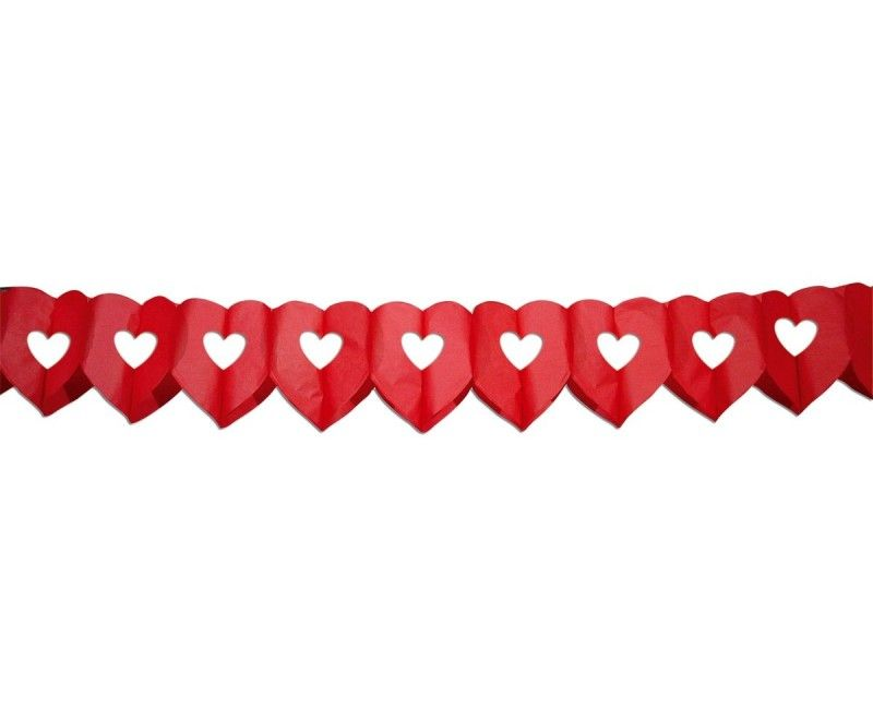 Slinger hart rood groot