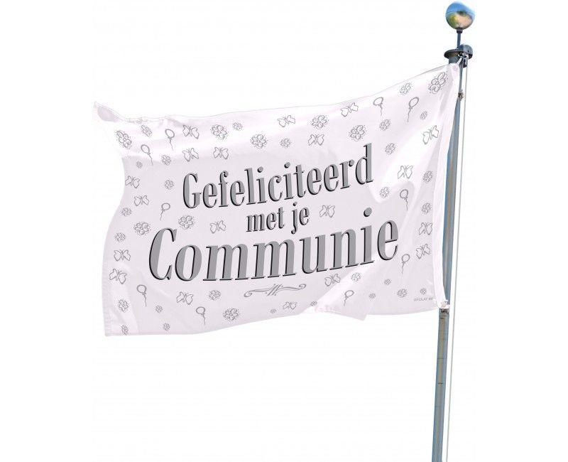 Gevelvlag Communie feest