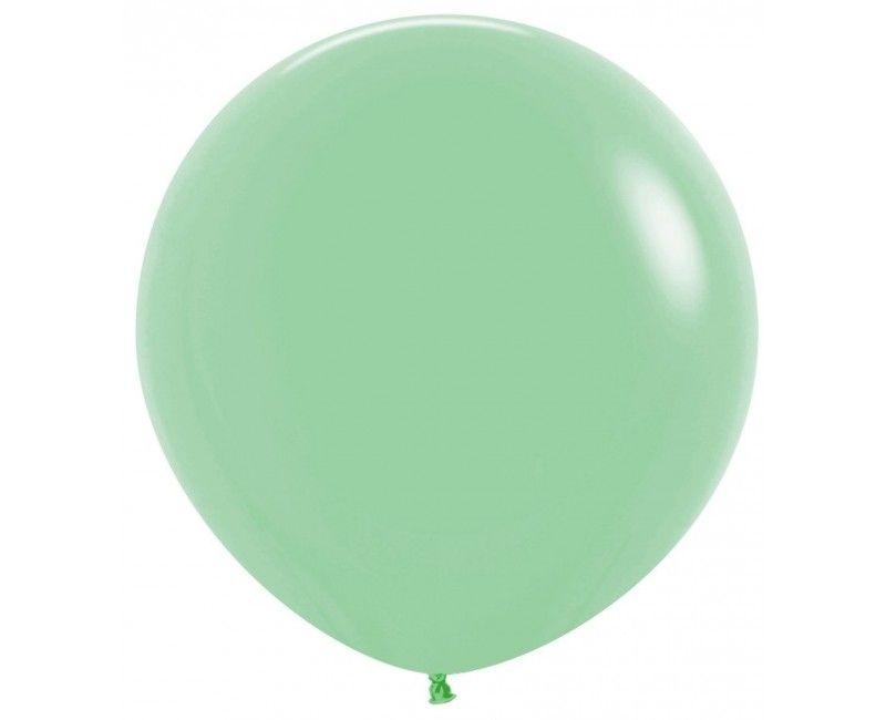 Sempertex ballon 90 cm mint groen, 1 stuk
