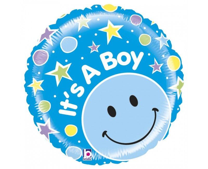 Folieballon It's a Boy mighty bright