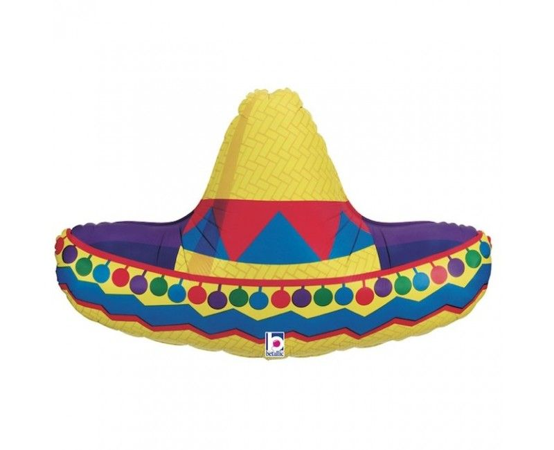 Folieballon sombrero
