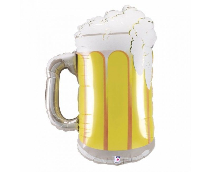Folieballon 86cm Frosty beer mug