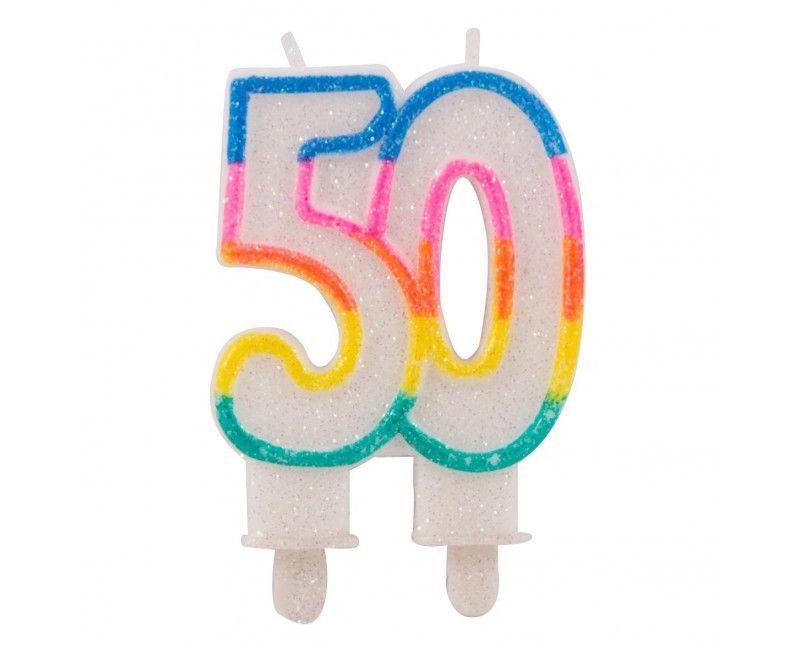 Glitterkaarsjes 50 jaar