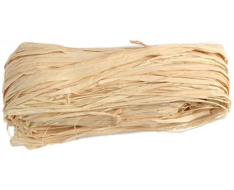 Raffia lint natural, 50 gram