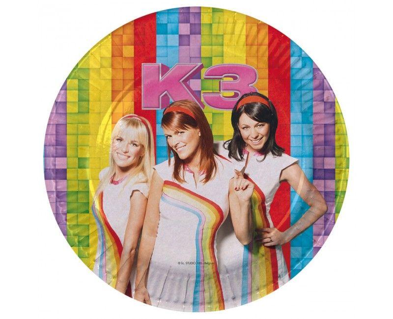 Borden K3 Classic, 8 stuks