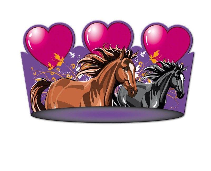 Feesthoedjes I love horses