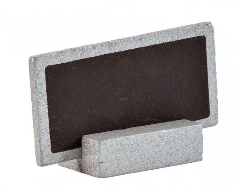 Tafel naambordjes zilver, 6 stuks