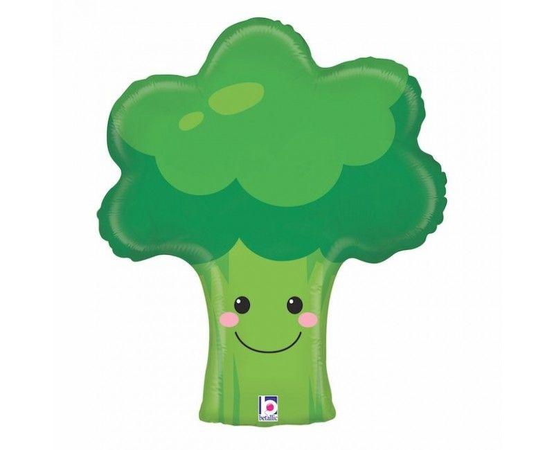 Folieballon broccoli 66cm