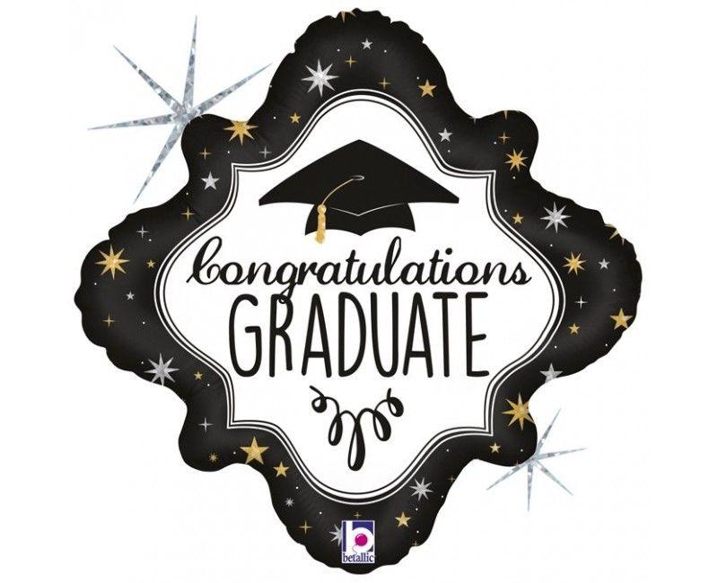 Folieballon congrats graduate
