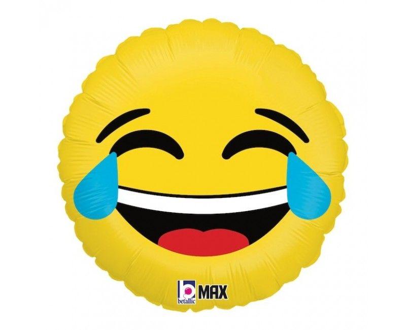 Folieballon emoticon LOL 45cm