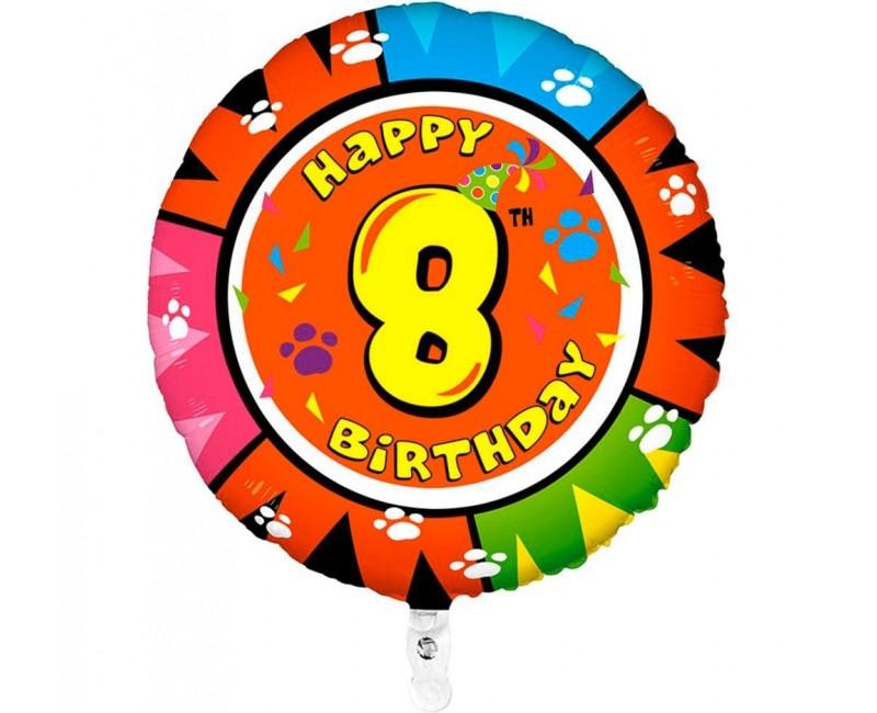 Folieballon 53cm animaloon Happy Birthday 8