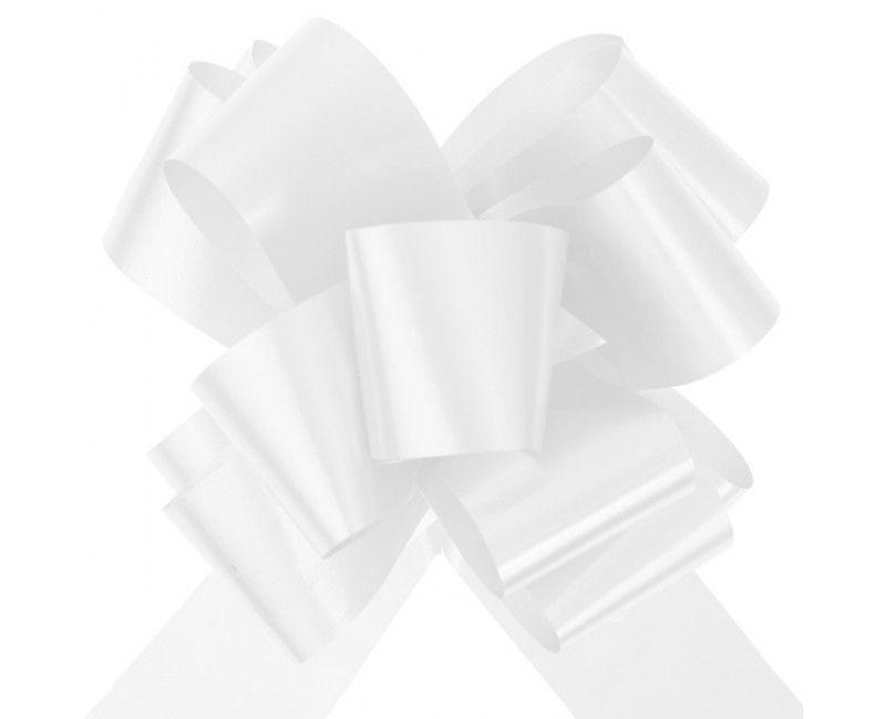 Trekstrik wit groot, 1 stuk