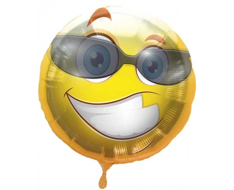 Folieballon emoticon Fun