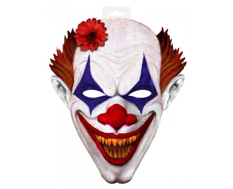 Masker horror clown XXL