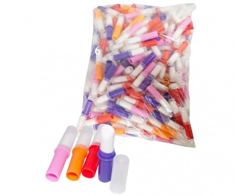 Verpakt snoep lippenstift, 10 stuks