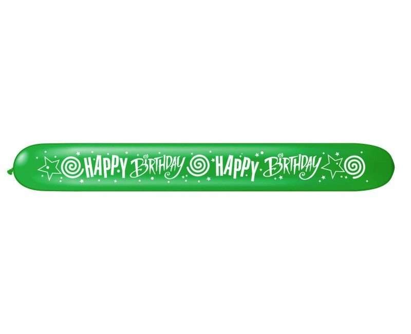 Zeppelin ballonnen Happy Birthday