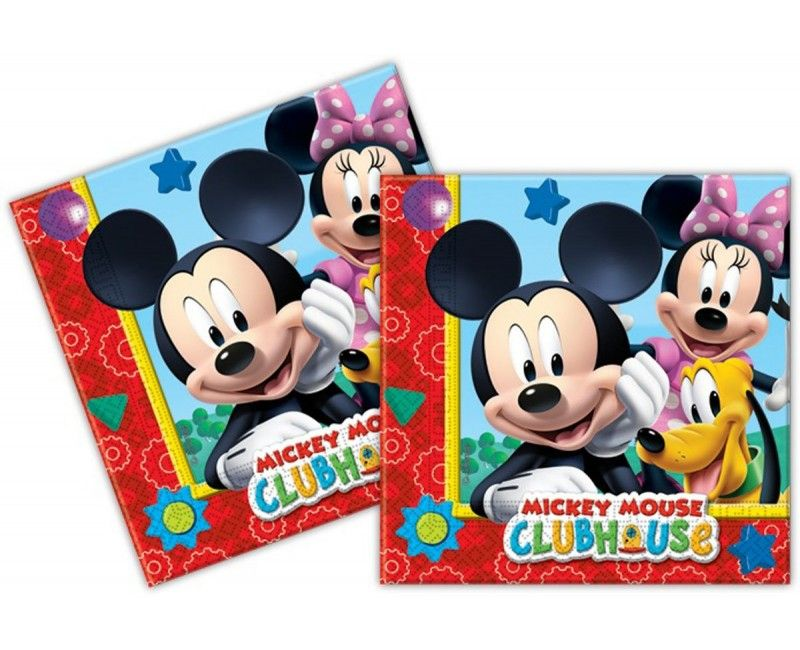 Servetten Mickey