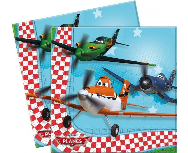 Servetten Planes