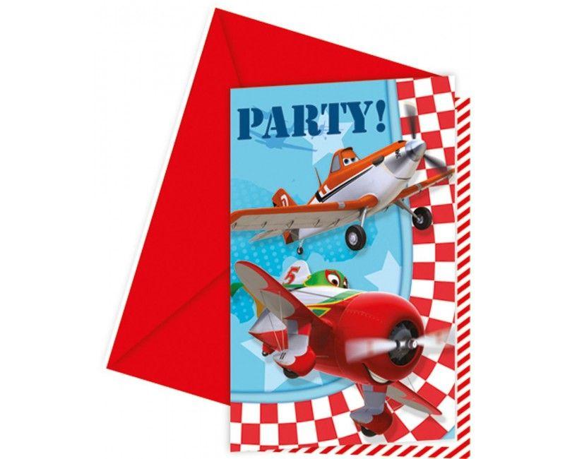 Uitnodigingen Planes