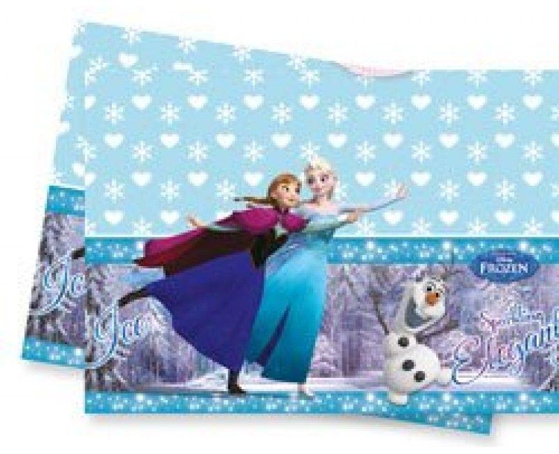 Tafelkleed Frozen Schaatsen