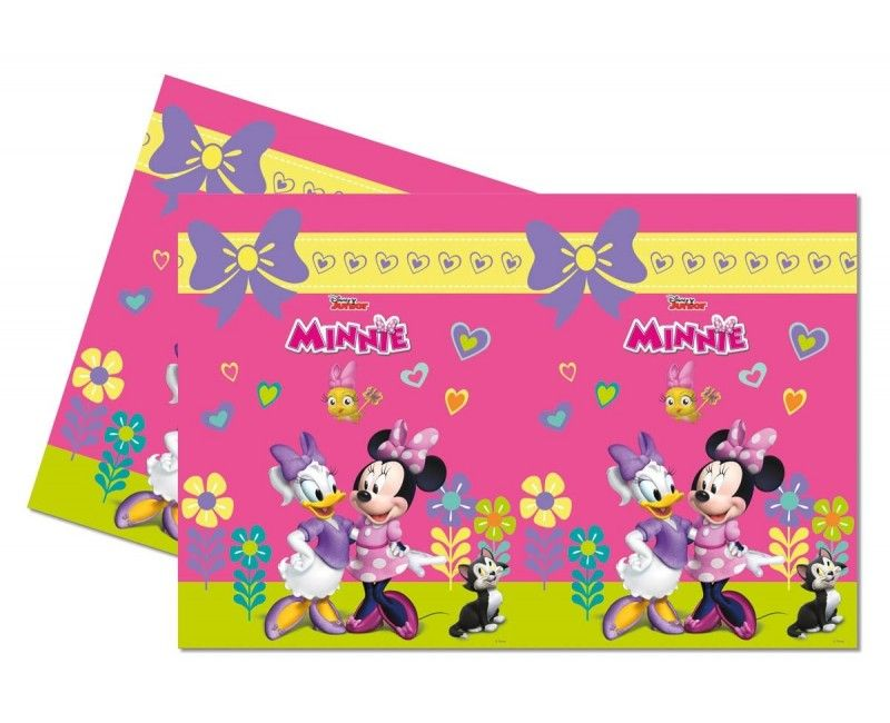 Tafelkleed Minnie Mouse Happy 120 x 180cm