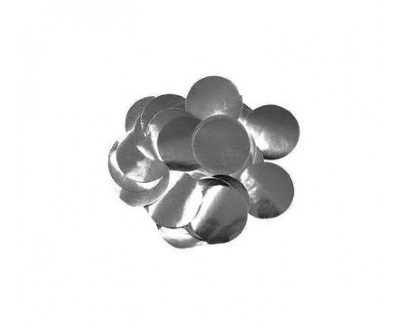 Ballon confetti Silver 10mm, zakje 15 gram