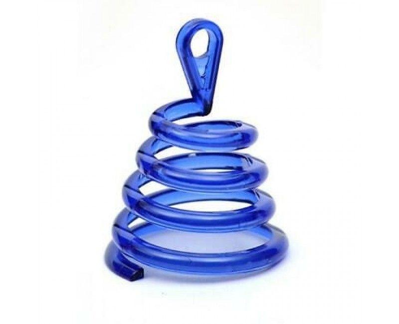 Ballongewicht spiraal blauw