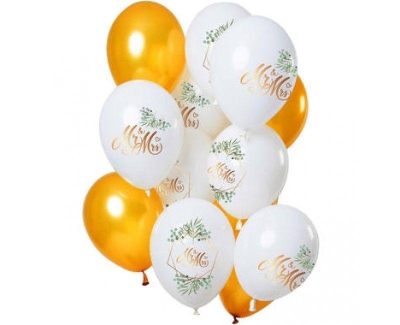 Ballonnen set Mr & Mrs