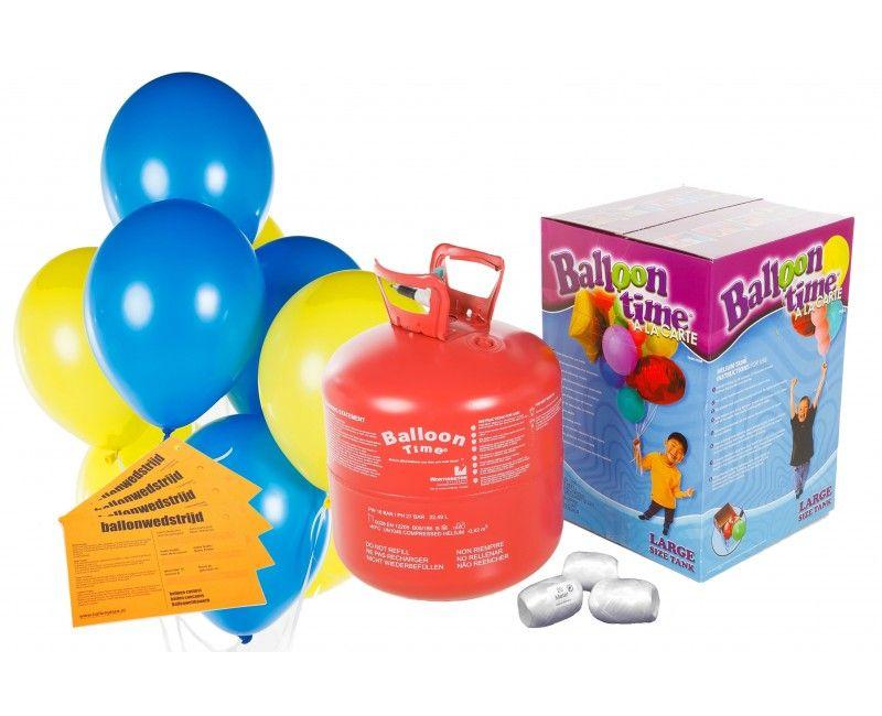 Ballonnen wedstrijd 50 ballonnen