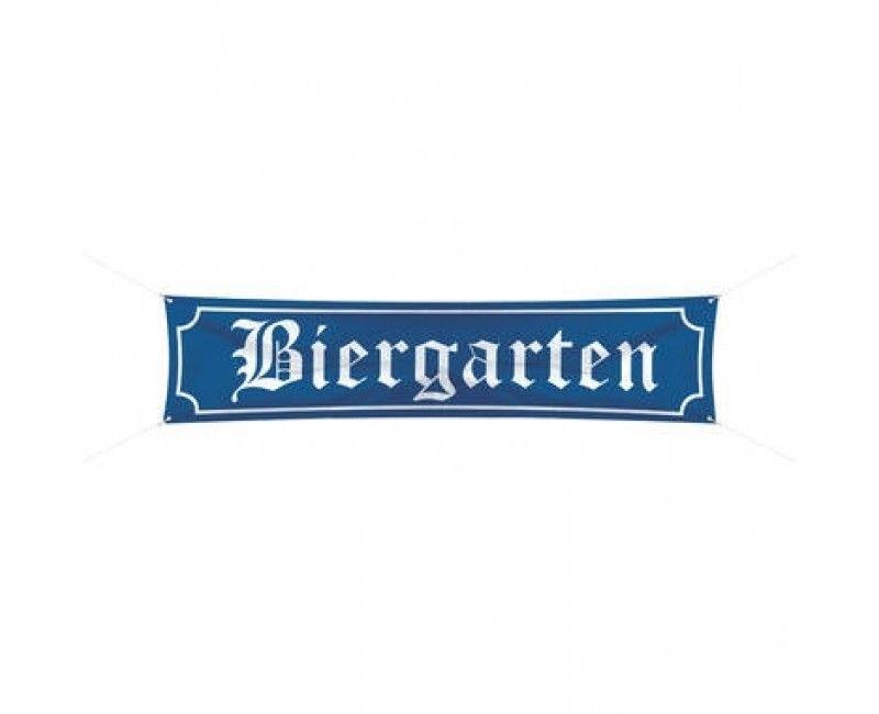 Banner Biergarten 180 x 40cm