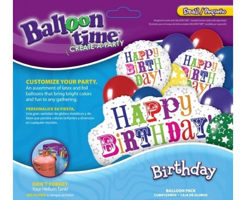 Ballontros Birthday greetings